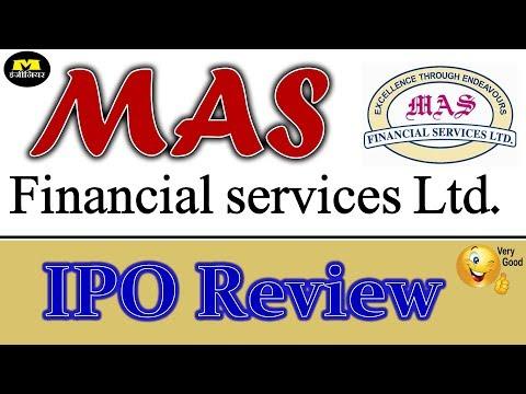 MAS Financial Services ltd IPO -  हिन्दी मे ! IPO ! MAS Financial Services IPO Review