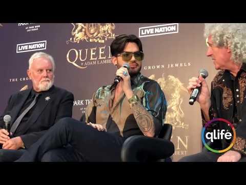 Queen + Adam Lambert FULL Press-Conference, Las Vegas 28/08/2018