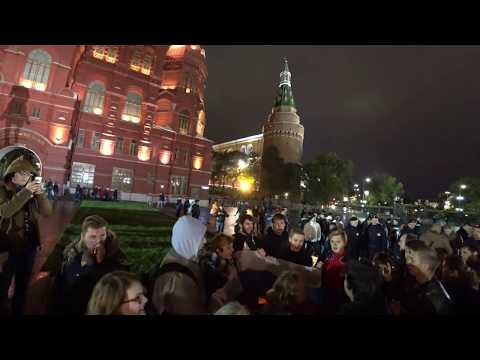Видео с митингов 7 октября