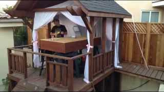 Epic Backyard DIY Timelapse (What is Pinsanity/Pinterest Personality Disorder?)