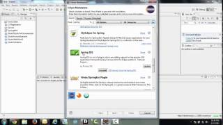How to install spring IDE in Eclipse