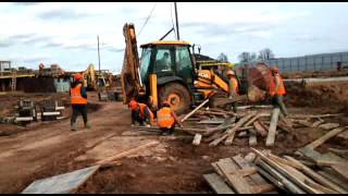 Как начиналась стройка в Белом городе Сабидом
