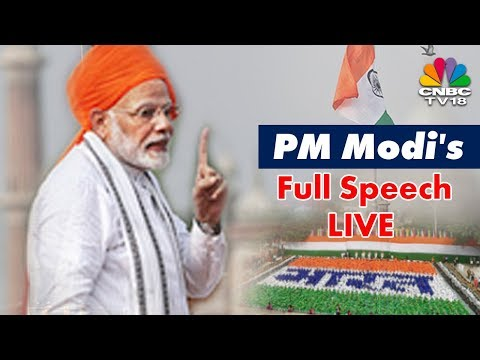 PM Narendra Modi's #IndependenceDay Full Speech LIVE from Red Fort | 15 August 2018 | CNBC TV18