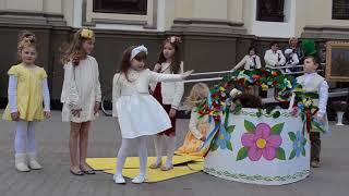 Дитяча театральна композиція  'Великодній кошик' 2016   #Акторко