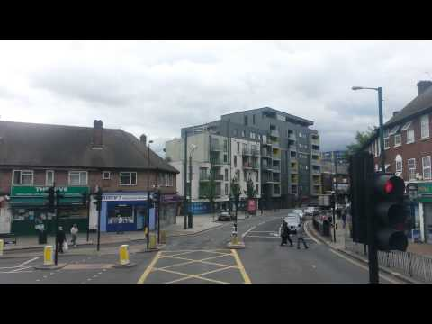 (HD) Route 297 Visual – Willesden to Ealing Broadway