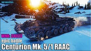 Рекорд по опыту World of Tanks Centurion Mk. 5/1 RAAC