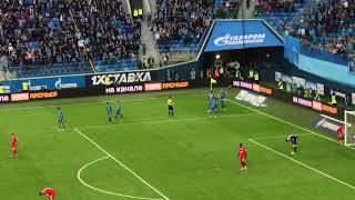 Зенит 5:3 Локомотив – Гол Дриусси