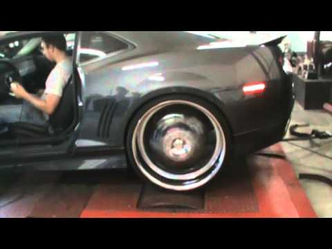 Rskustomz Dyno Run With Pypes Electric Exhaust Cutouts 2010 Camaro Rs Youtube