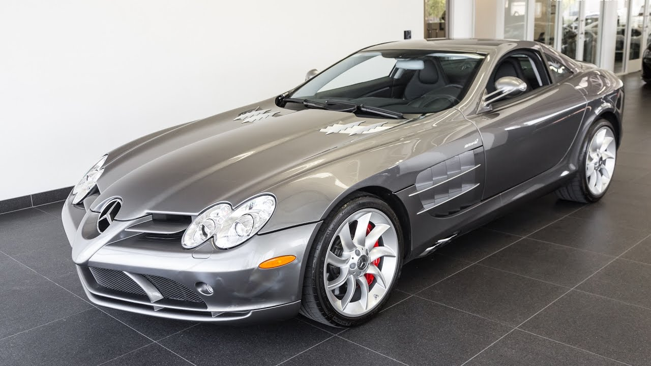 2006 Metallic Grey Mercedes Mclaren Slr Coupe Youtube