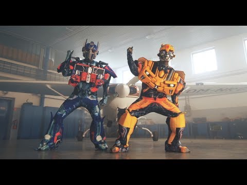 TRANSFORMERS 5 | DANCING BUMBLEBEE AND OPTIMUS PRIME | OFFICIAL VIDEO