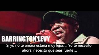 Barrington Levy Be Strong Subtitulada En Español