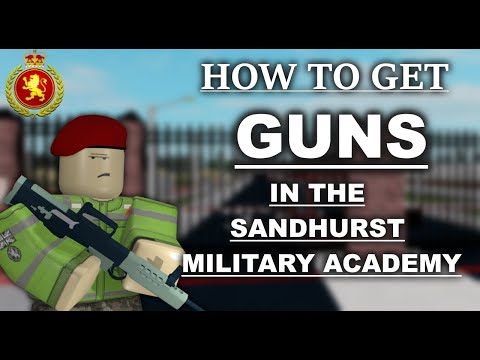 Roblox How To Get Guns In Sandhurst Military Academy Marcuses