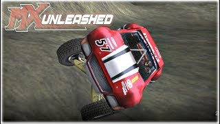 MX Unleashed Freestyle Career Mode Xbox One Gameplay Walkthrough Part 8 - Trophy Truck Race!