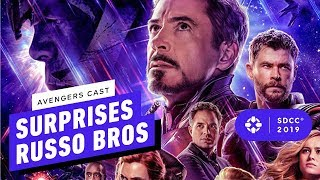 Avengers Stars Surprise at the Russos Panel - Comic Con 2019
