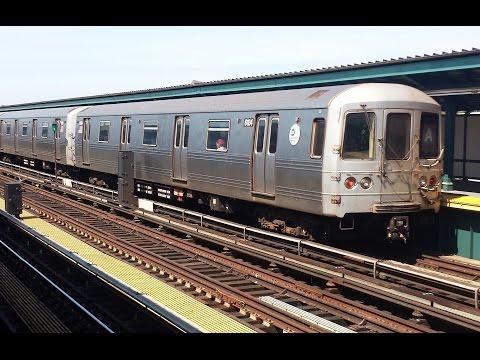 On Board Inwood Bound R46 (A) Train From Far Rockaway Mott Avenue to Euclid Avenue