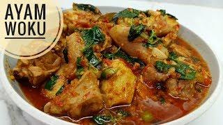 Resep ayam woku pedesnya mantap!!