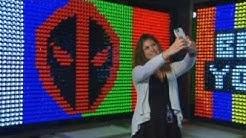 Selfie pop-up museum celebrates DVD release of 'Deadpool 2'