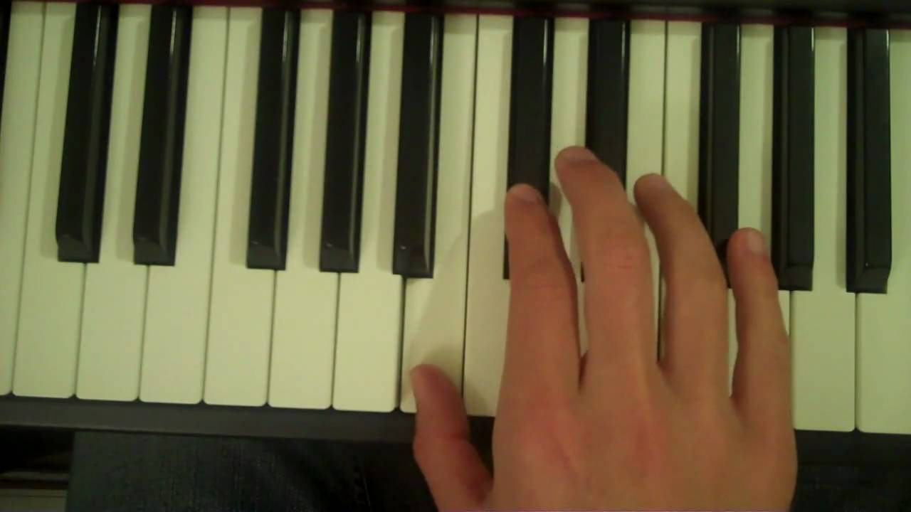 How To Play a Bsus15 Chord on Piano