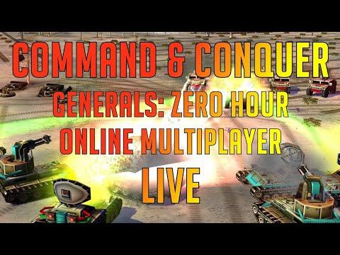 Command \u0026 Conquer Generals Zero Hour Live - Mix Of Games - Online Multiplayer