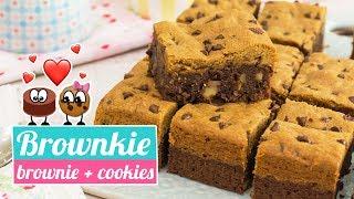 BROWNKIE | La fusión perfecta de Brownie y Cookies | Quiero Cupcakes!