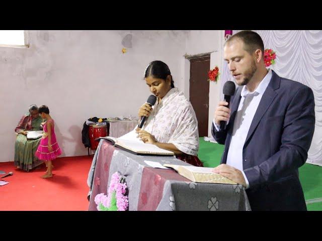 Sunday Service, Dubbathanda, India: How do we know God?