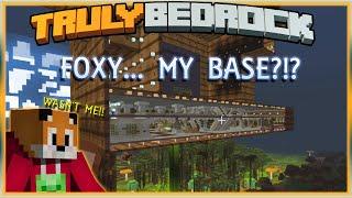 Truly Bedrock E73 FOXY... MY BASE?! | Minecraft Bedrock, MCPE, MCBE