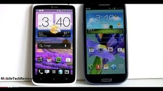 Samsung Galaxy S III vs. HTC One X Comparison Smackdown