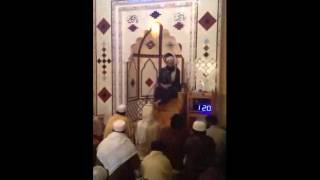 jumah in masjid al-jamia  al-madina(pakistan)part1