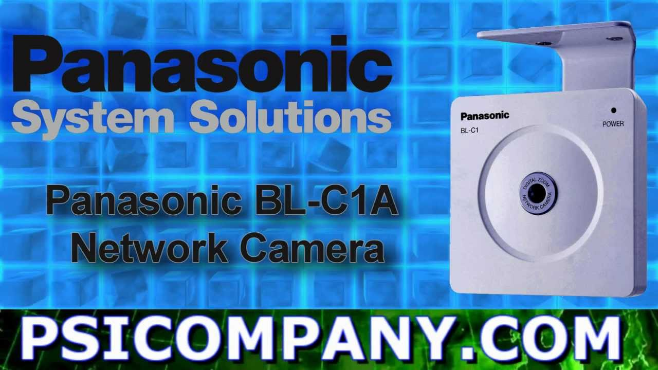 Panasonic bl-c1 digital camera user manual: panasonic: free.