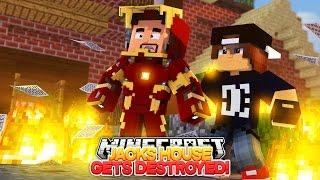 Minecraft Adventure - BARON VON BADGUY LEAVES IRONMAN A NASTY MESSAGE!!!