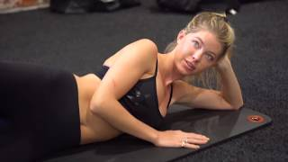 Baskin Champion - Victoria's SECRET MODEL WORKOUT - Inner Thigh Workout - Targetting inner thighs