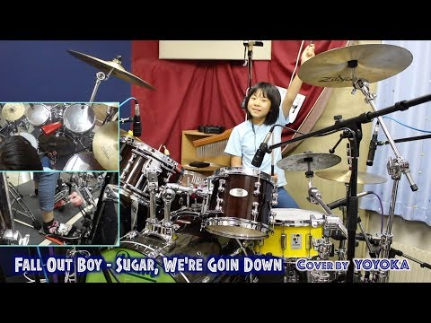 Fall Out Boy - Sugar, We're Goin Down / Cover by Yoyoka, 9 year old