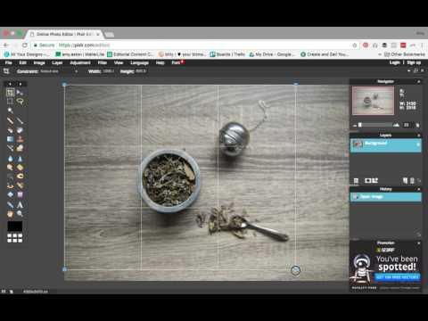 Pixlr Photo Editing Tutorial