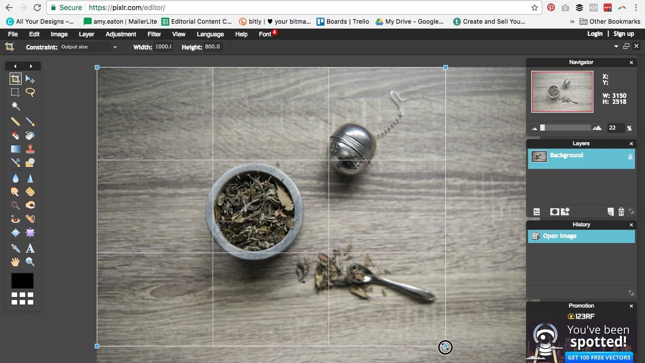 Pixlr Photo Editing Tutorial Youtube