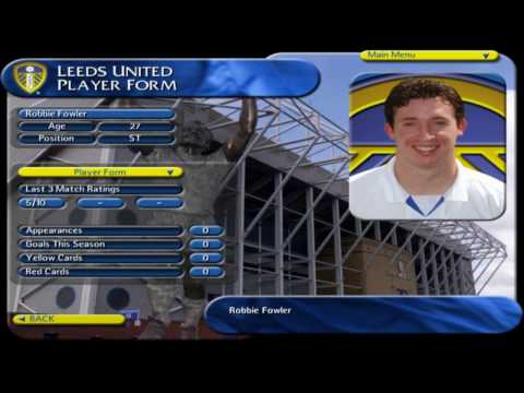 Leeds United The Official Management Game (Playthrough)