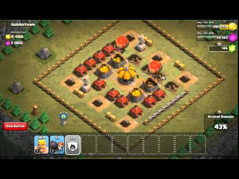 Clash of Clans: Attacking Gobbotown