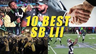 The 10 Best Things from Super Bowl 52