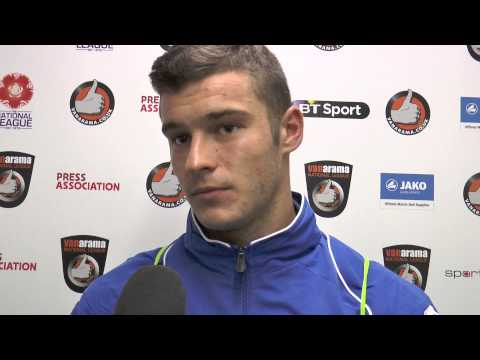 Jake Kirby Post-Match Interview - Worcester City