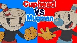 Cuphead Vs Mugman Best Of Three Rounds (Full Match)