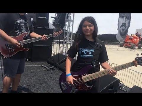 Metallicas Rob Trujillo's 12-Year-Old Son Tye Jamming W/ Dave Lombardo SUICIDAL TENDENCIES