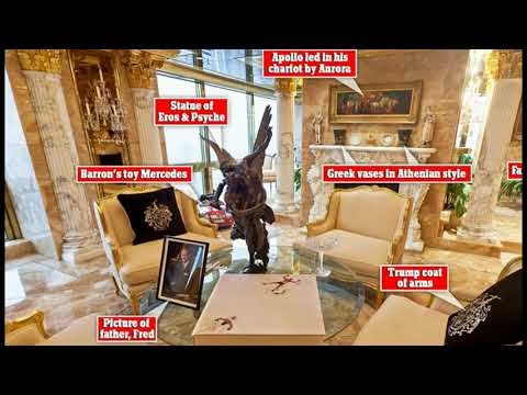 Donald Trumps 66th Floor Penthouse Exposes His Idol Sun God Apollo, Son of Zeus