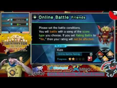 [Ep#25] Let's plaie - TheatRhythm Final Fantasy Curtain Call - VS Online