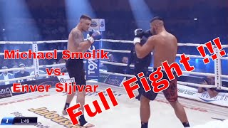 !!! Rückkampf !!! Michael Smolik vs. Enver Sljivar  Full Fight 22.09.2018