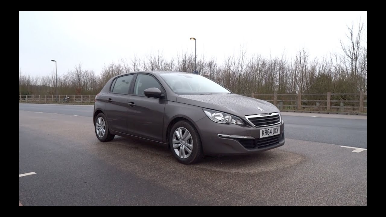 2015 peugeot 308 1 6 hdi 92 active start up and tour youtube. Black Bedroom Furniture Sets. Home Design Ideas