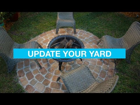 Easy Backyard Ideas: Outdoor Living Spaces - YouTube on Simple Outdoor Living id=15938