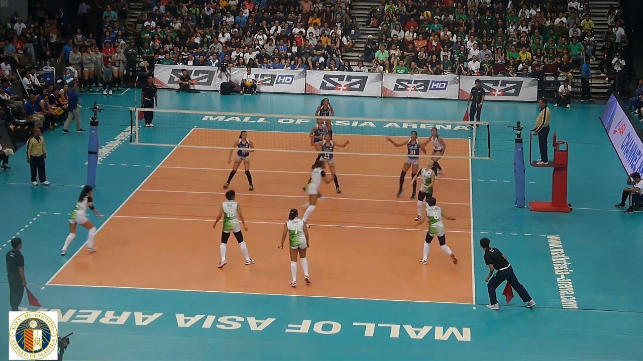 Uaap 81 Women S Volleyball Tournament Rd1 Ateneo Vs La Salle Youtube