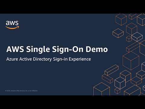 Demo of AWS Single Sign-On (SSO) with Azure Active Directory