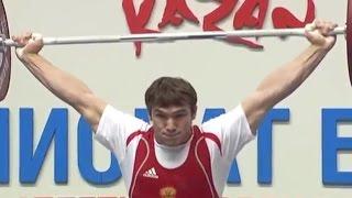 2011 European Weightlifting Championships, Men 85 kg \ Тяжелая Атлетика. Чемпионат Европы