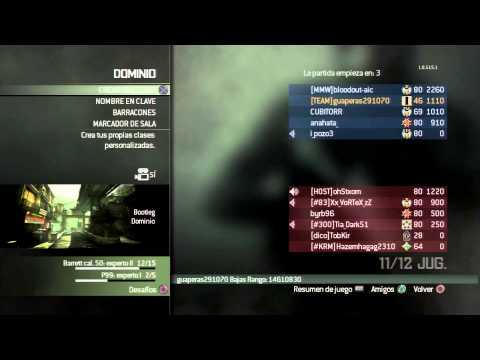 COD: MW3 Un hacker en la partida + El oro esta a la vuelta