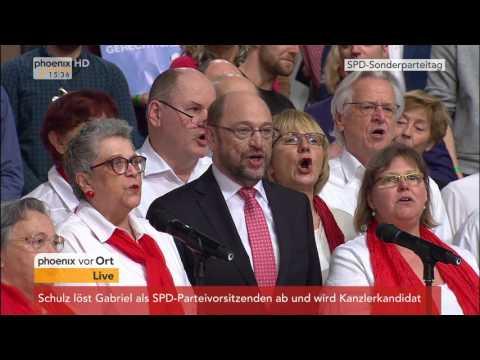 Sonderparteitag der SPD: Schlusswort von Martin Schulz am 19.03.2017